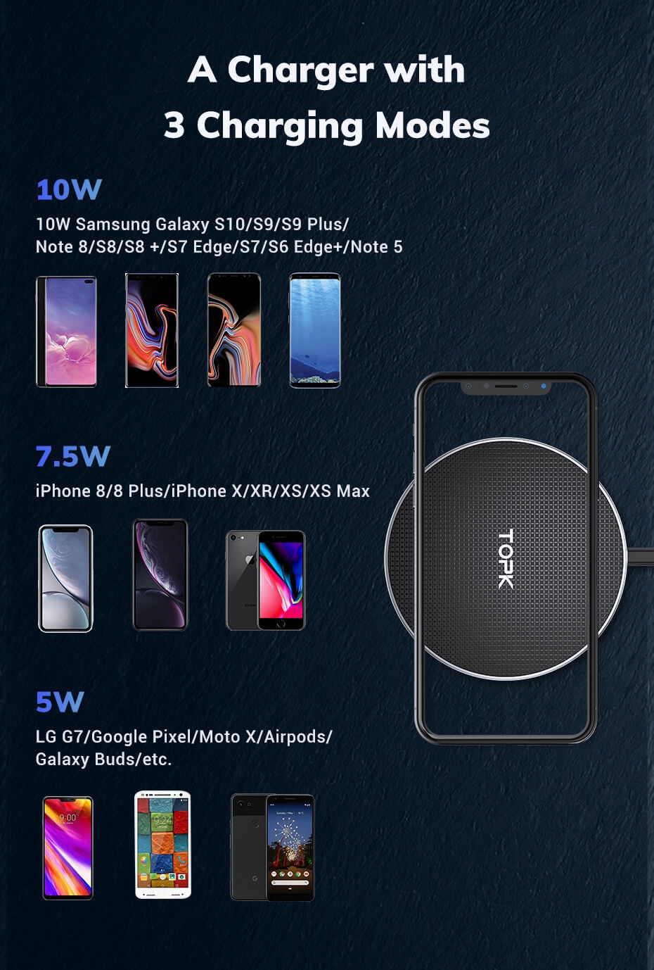 Wireless moile charger